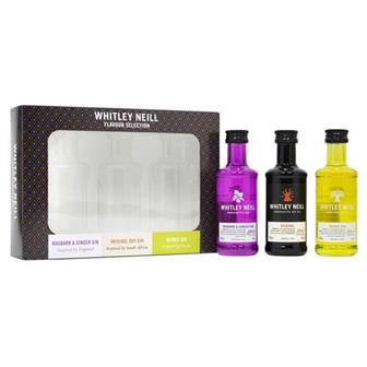 Whitley Neill Gin Gift Pack 3x5cl thumbnail