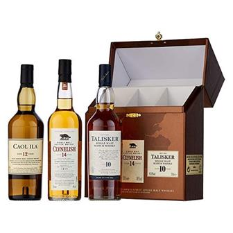 The Classic Malts Gift Pack Coastal 3x20cl thumbnail