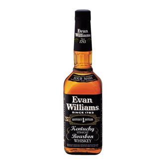 Evan Williams Kentucky Straight Bourbon 43% 70cl thumbnail