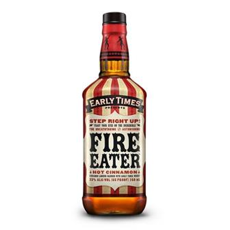 Early Times Fire Eater Hot Cinnamon Whisky Liqueur 70cl thumbnail