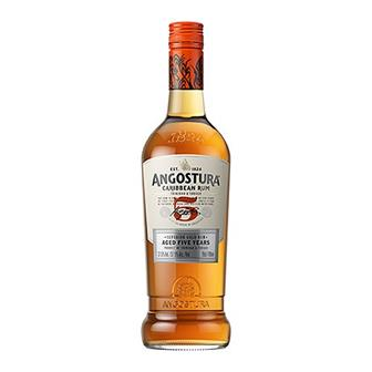 Angostura 5 years old Golden Rum 40% 70cl thumbnail