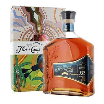 Flor de Cana Rum 12 Year Old 40% 70cl thumbnail