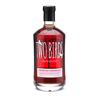 Two Birds Grapefruit & Pomegranate Gin 70cl thumbnail