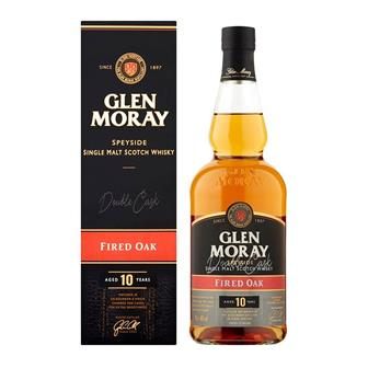 Glen Moray Fired Oak 10 Years Old 70cl thumbnail