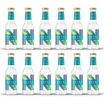 Navas Premium Cornish Tonic Water 200ml Case of 12 thumbnail