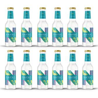 Navas Premium Cornish Tonic Water 200ml Case of 12 thumbnail