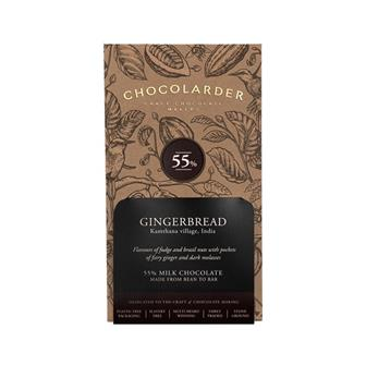 Chocolarder Gingerbread 55% Milk Chocolate 70g thumbnail