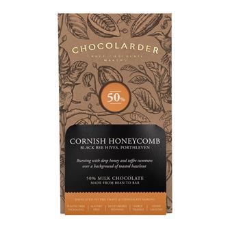 Chocolarder Cornish Honeycomb Chocolate 50% 70g thumbnail
