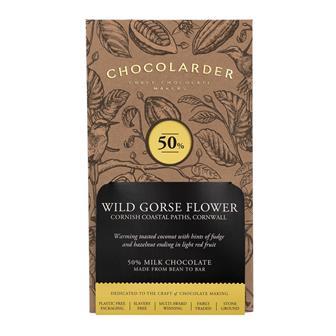 Chocolarder Wild Gorse Flower milk Chocolate 50% 70g thumbnail