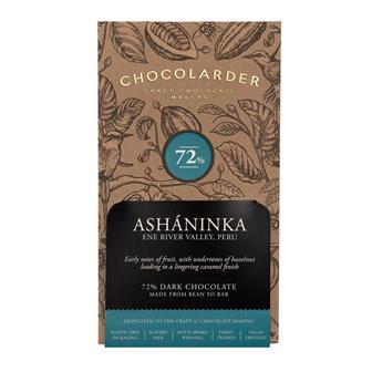Chocolarder Ashaninka 72% Dark Chocolate 70g thumbnail