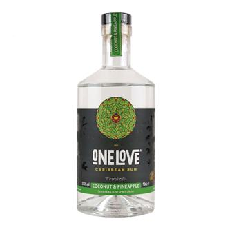 One Love Coconut & Pineapple Rum 70cl thumbnail