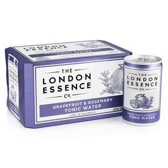 London Essence Grapefruit & Rosemary Tonic Water Cans 6 x 150ml thumbnail