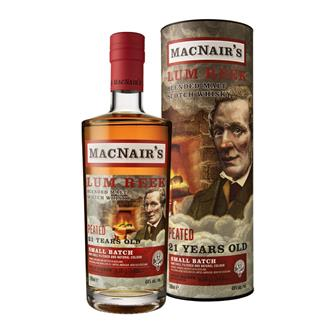 MacNair's 21 Year Old Blended Malt Scotch Whisky 70cl thumbnail