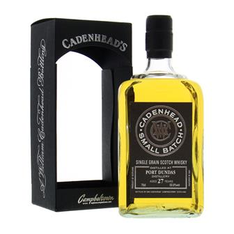 Port Dundas 27 Year Old Cadenheads Small Batch 70cl thumbnail