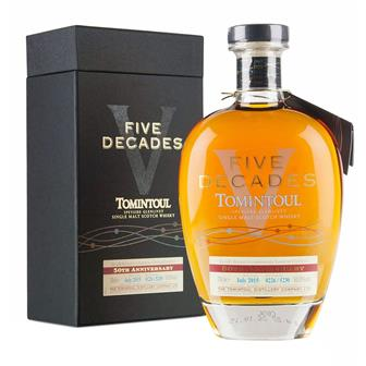 Tomintoul Five Decades 50th Anniversary 70cl thumbnail