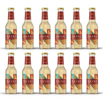 Navas Cornish Ginger Beer 200ml Case of 12 thumbnail