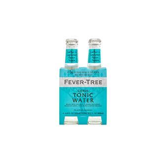 Fever Tree Citrus Tonic 200ml 4 Pack thumbnail