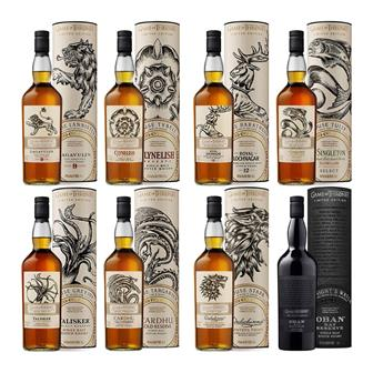 Game of Throne Set of Whiskies (8 bottles) thumbnail