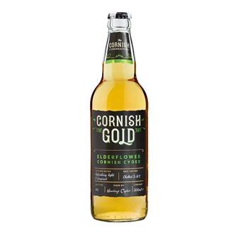 Healeys Cornish Gold Elderflower Cyder 500ml thumbnail