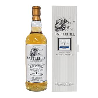 Bunnahabhain 4 Year Old Battlehill 70cl thumbnail