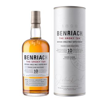 Benriach The Smoky Ten 10 Year Old 70cl thumbnail