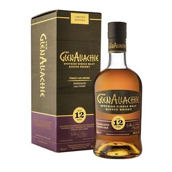 GlenAllachie 12 Year Old Chinquapin Oak Finish Single Malt 70cl thumbnail