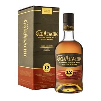 GlenAllachie 12 Year Old Spanish Oak Finish Single Malt 70cl thumbnail