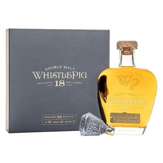 WhistlePig 18 Year Old Double Malt Rye Whiskey 70cl thumbnail