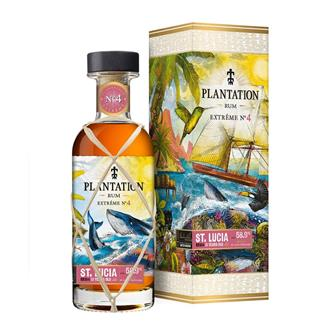 Plantation St Lucia 2007 Extreme No.4 13 Year Old Rum 70cl thumbnail