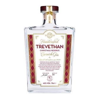 Trevethan Christmas Reserve Cornish Gin 70cl thumbnail