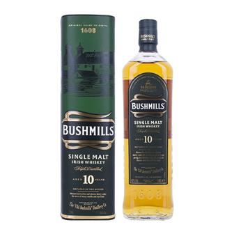 Bushmills 10 Year Old Irish Whiskey 70cl thumbnail