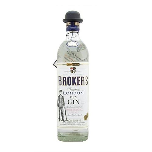 Brokers London Dry Gin 40% Image 1