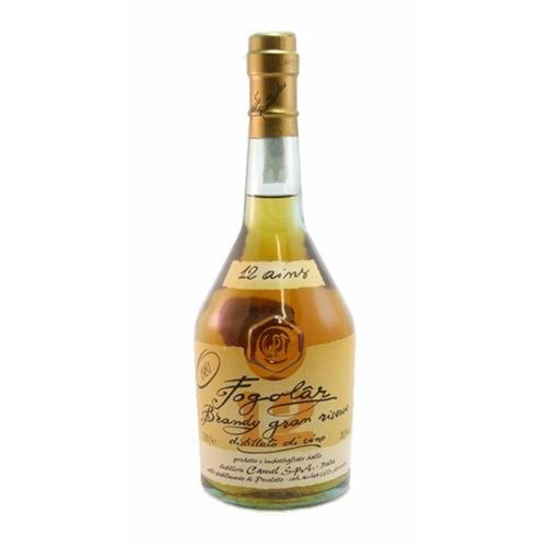 Fogolar Brandy 12 years old 1981 38.5% 70cl Image 1