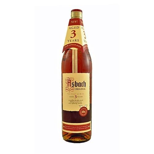 Asbach Original 3 Year Old Brandy German 38% 70cl Image 1