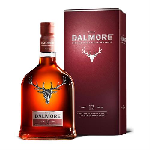 Dalmore 12 Year Old Single Malt Whisky 70cl Image 1