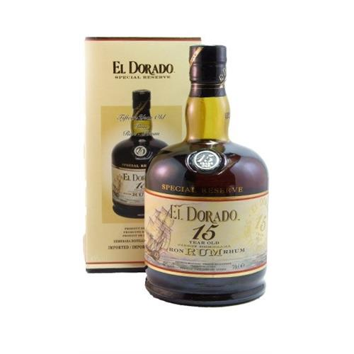 El Dorado 15 Year Old Rum 43% 70cl Image 1