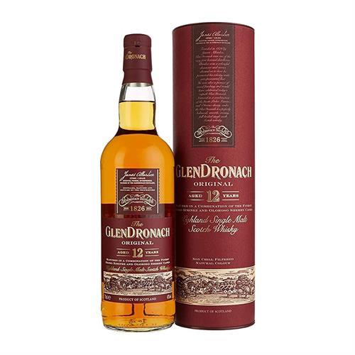 Glendronach 12 Year Old Single Malt Whisky 70cl Image 1