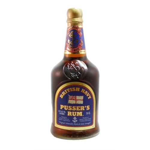 Pussers Blue Navy Rum 54.5% vol 70cl Image 1