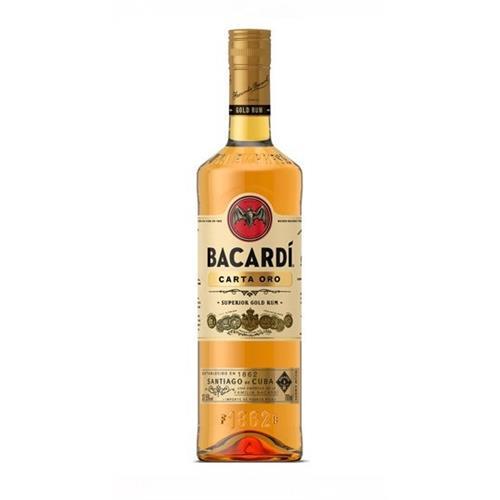 Bacardi Carta Oro 37.5% 70cl Image 1