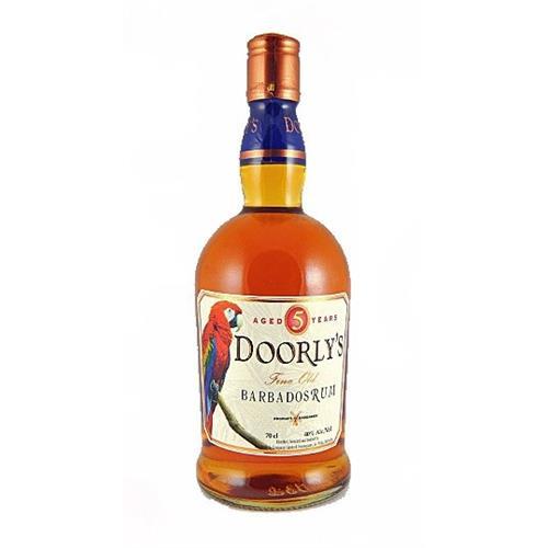 Doorlys 5 years old Rum 37.5% 70cl Image 1
