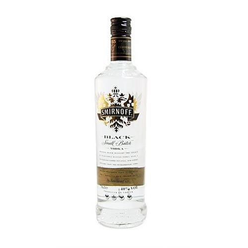 Smirnoff Black Vodka 40% 70cl Image 1