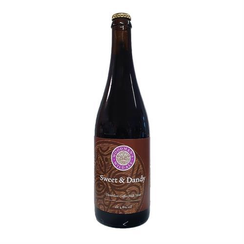 Woodman's Wild Ale 'Sweet & Dandy' Dandelion Coffee Milk Stout 4.8% 750ml Image 1