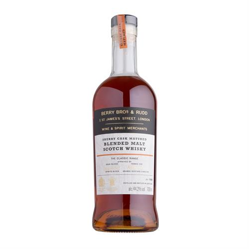Berry Bros & Rudd Classic Sherry Cask Blended Malt Whisky 70cl Image 1
