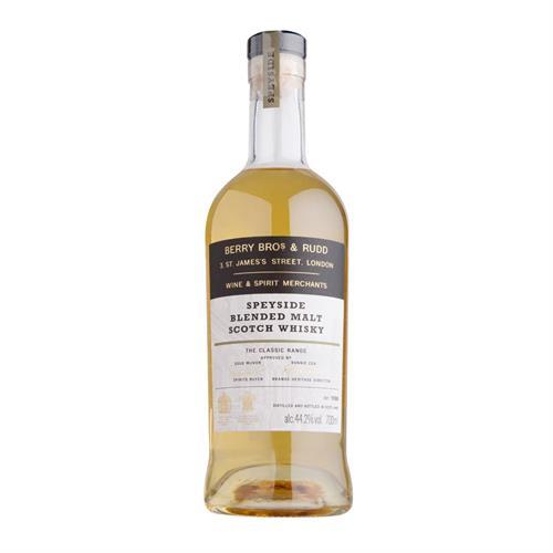 Berry Bros & Rudd Classic Speyside Blended Malt Whisky 70cl Image 1