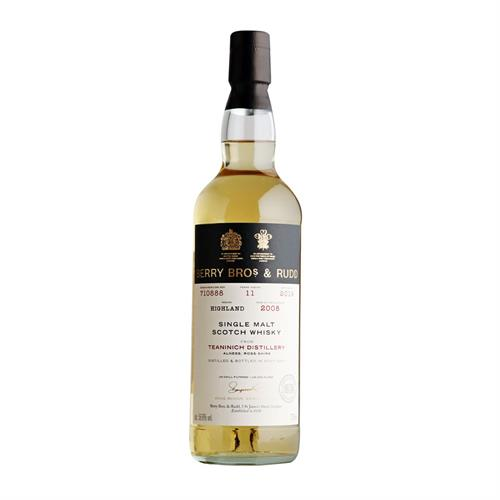 Teaninich 2008 Cask 710888 11 Year Old Single Malt Whisky Berry Bros & Rudd 70cl Image 1