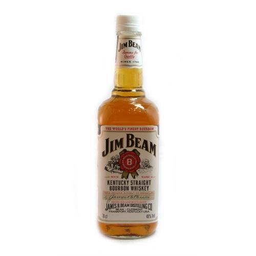 Jim Beam Bourbon 40% 70cl Image 1