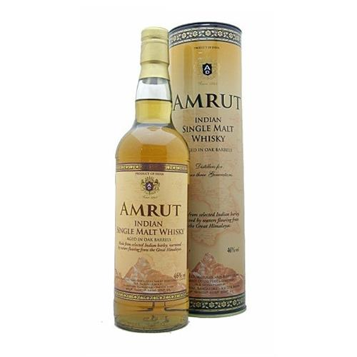 Amrut Single Malt 46% 70cl Image 1