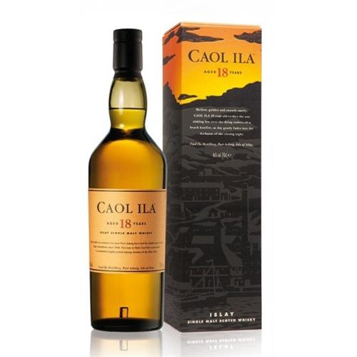 Caol Ila 18 years old 43% 70cl Image 1