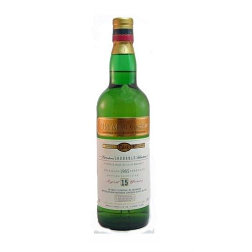 Laudable 1985 15 years old Old Malt Cask 50% 70cl Image 1