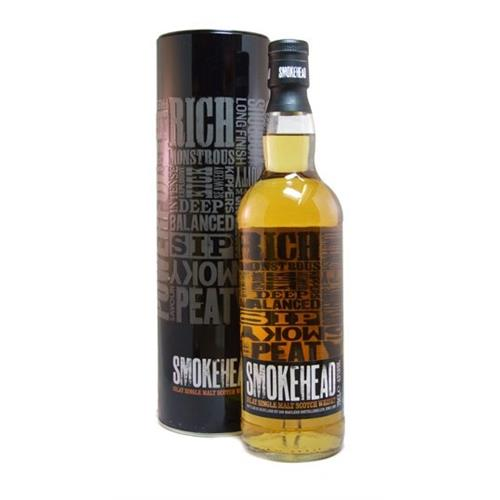 Smokehead Single Islay Malt 43% 70cl Image 1